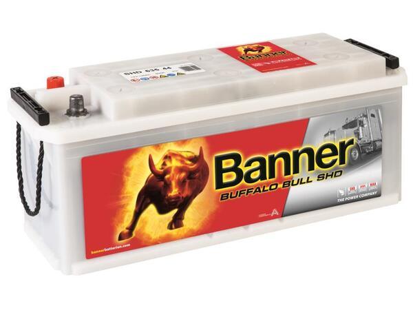 BANNER 135AH 900A BUFFALO BULL SHD L+
