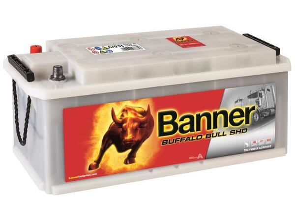 BANNER 170AH 1000A BUFFALO BULL SHD L+