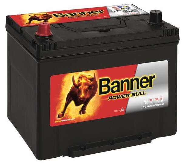 BANNER 70AH 600A POWER BULL L+