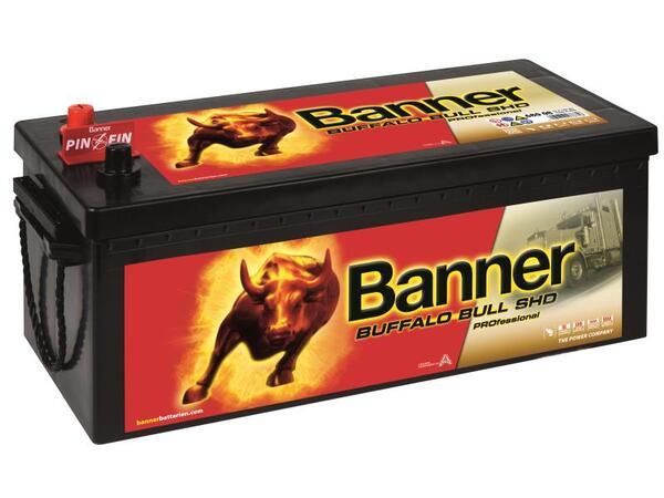 BANNER 180AH 1000A BUFFALO BULL SHD PROFESSIONAL L+