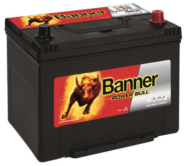 BANNER 70AH 600A POWER BULL R+