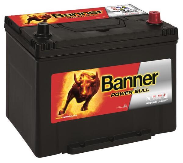 BANNER 80AH 640A POWER BULL R+