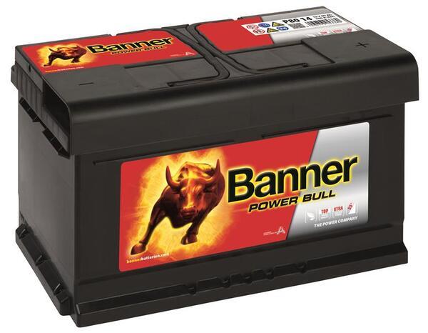BANNER 80AH 700A POWER BULL R+