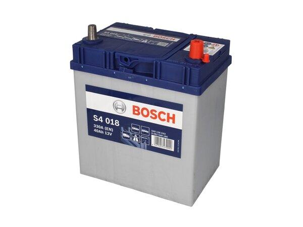 BOSCH 40AH 330A SILVER S4 R+