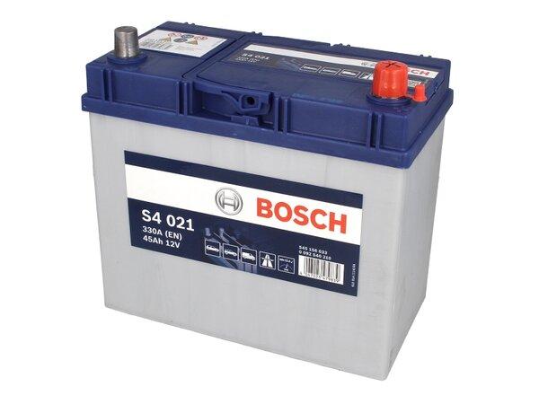 BOSCH 45AH 330A SILVER S4 R+