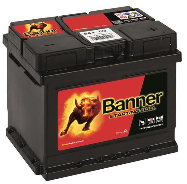 BANNER 44AH 360A STARTING BULL R+
