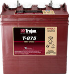 TROJAN 170AH 8 VOLT DEEP-CYCLE FLOODED BATTERIES - WITH T2 TECHNOLOGY L+