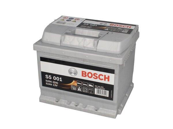 BOSCH 52AH 520A SILVER S5 R+