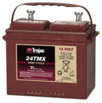 TROJAN 85AH 12 VOLT DEEP-CYCLE FLOODED BATTERIES - WITH T2 TECHNOLOGY R+