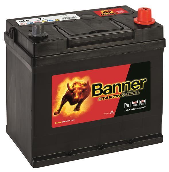 BANNER 45AH 300A STARTING BULL R+