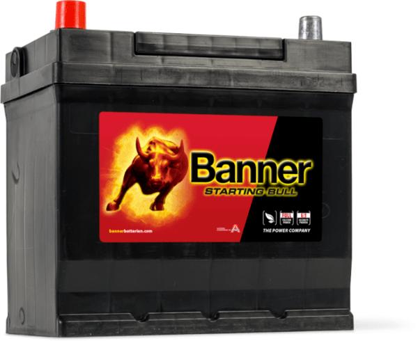 BANNER 45AH 300A STARTING BULL L+