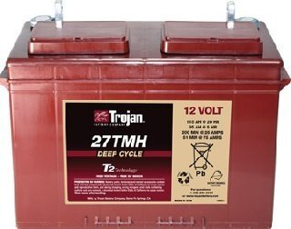 TROJAN 115AH 12 VOLT DEEP-CYCLE FLOODED BATTERIES - WITH T2 TECHNOLOGY R+