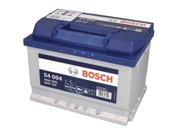 BOSCH 60AH 540A SILVER S4 R+