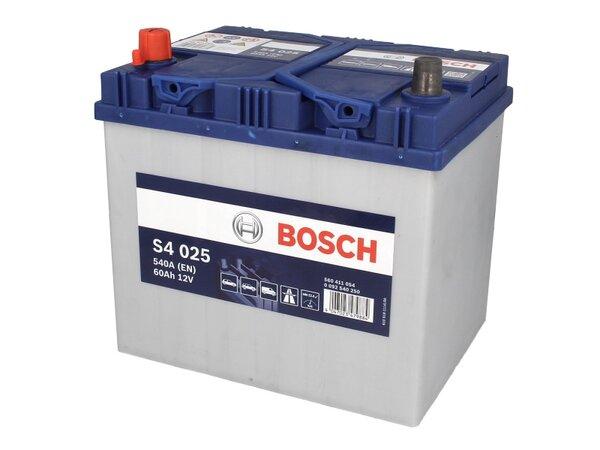 BOSCH 60AH 540A SILVER S4 L+
