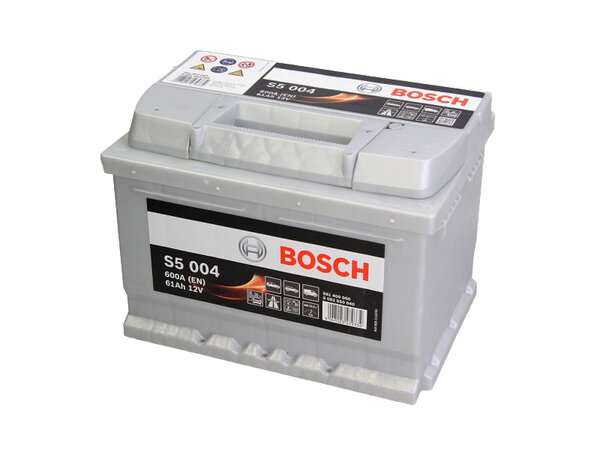 BOSCH 61AH 600A SILVER S5 R+