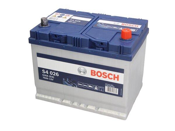 BOSCH 70AH 630A SILVER S4 R+