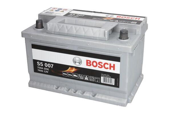 BOSCH 74AH 750A SILVER S5 R+