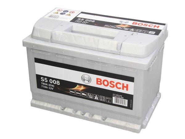BOSCH 77AH 780A SILVER S5 R+