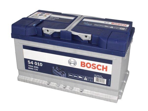 BOSCH 80AH 740A SILVER S4 R+