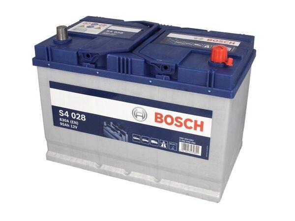 BOSCH 95AH 830A SILVER S4 R+