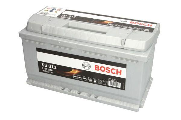 BOSCH 100AH 830A SILVER S5 R+