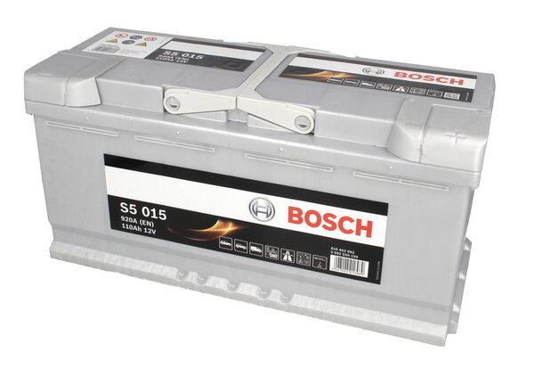 BOSCH 110AH 920A SILVER S5 R+