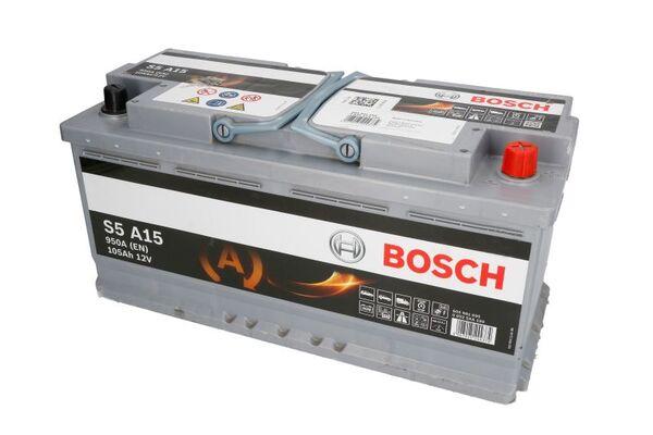 BOSCH 105AH 950A SILVER S5 R+