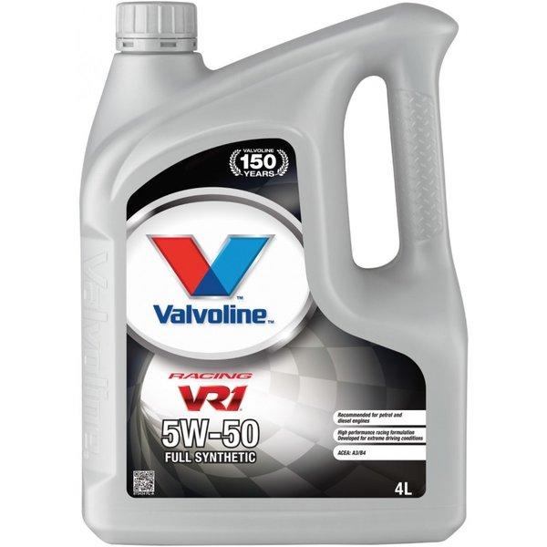 VALVOLINE VR1 RACING 5W50 4L SW