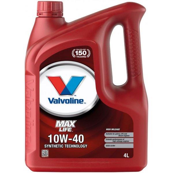 VALVOLINE MAXLIFE 10W40 4L SW