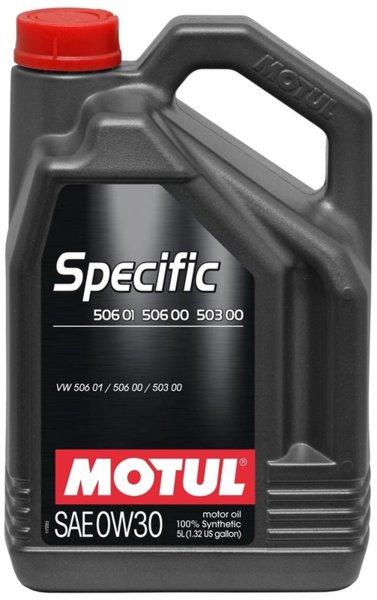 MOTUL SPECIFIC 506.01; 506.00; 503.00 0W-30 5L