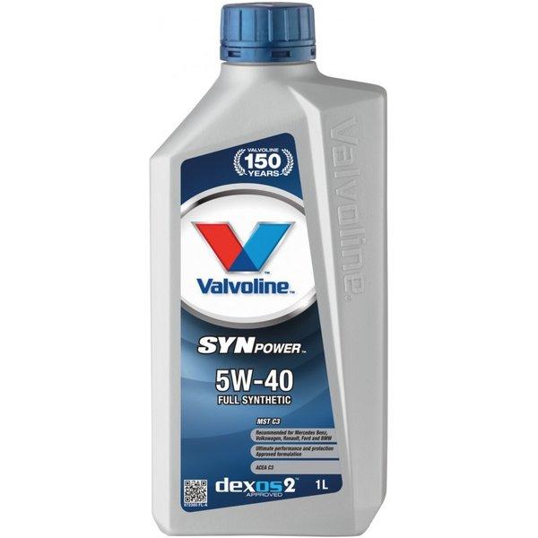 VALVOLINE SYNPOWER MST C3 5W40 1L SW