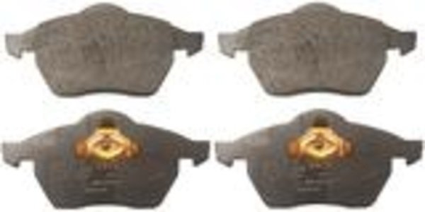 Комплект предни спирачни накладки FERODO
