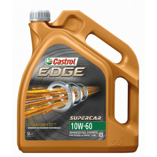 CASTROL EDGE SUPERCAR 10W60 5L