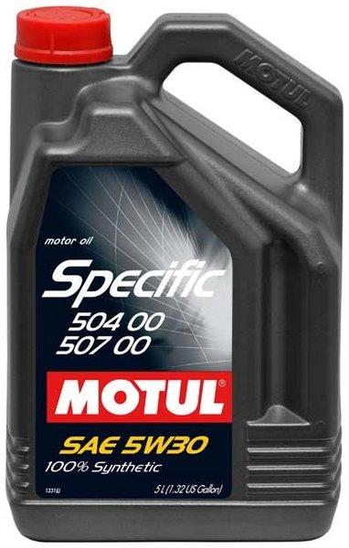 MOTUL SPECIFIC 504.00 507.00 5W-30 5L