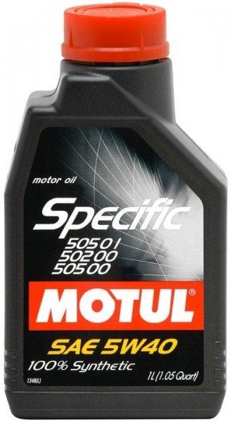 MOTUL SPECIFIC VW 505.01 502.00 505.00 5W-40 1L