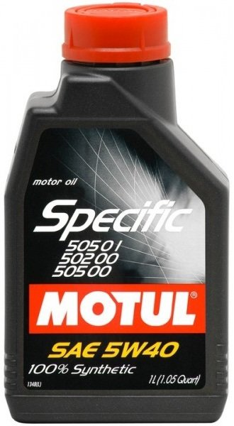 MOTUL SPECIFIC VW 505.01 502.00 505.00 5W-40 1L