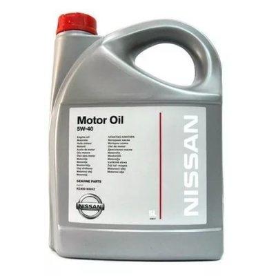 NISSAN OIL SN/CF 5W40 5L