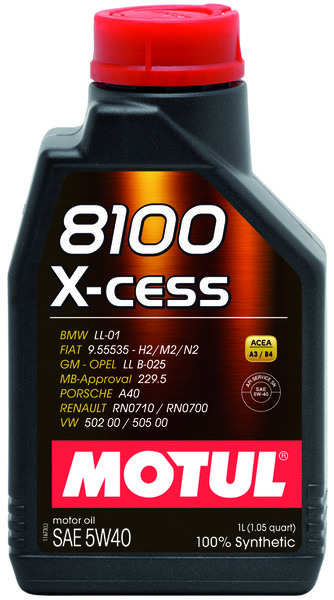 MOTUL 8100 X-CESS 5W-40 1L
