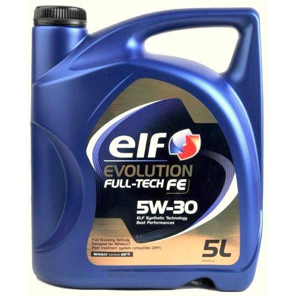 ELF EVOLUTION F-TECH FE 5W-30 5L