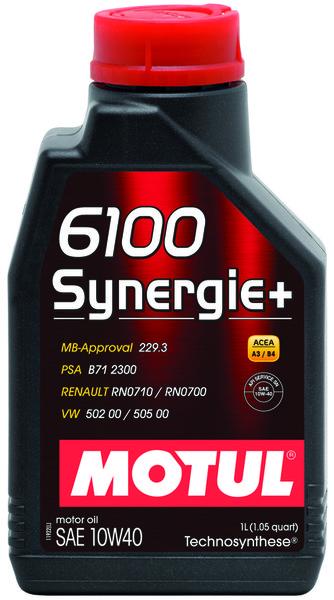 MOTUL 6100 SYNERGIE + 10W-40 1L