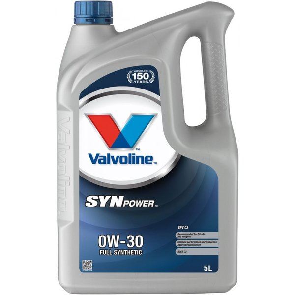 VALVOLINE SYNPOWER ENV C2 0W30 5L SW