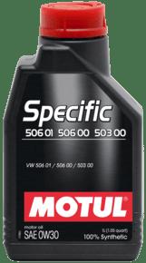 MOTUL SPECIFIC 506 01 506 00 503 00 0W-30 1L