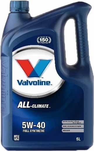 VALVOLINE ALL CLIMATE 5W40 5L SW
