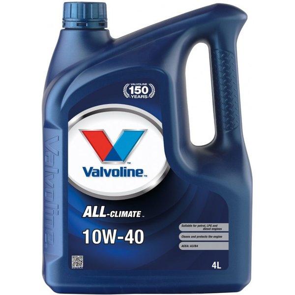 VALVOLINE ALL CLIMATE 10W40 4L