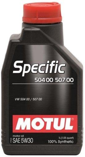 MOTUL SPECIFIC VW 504.00 507.00 5W-30 1L