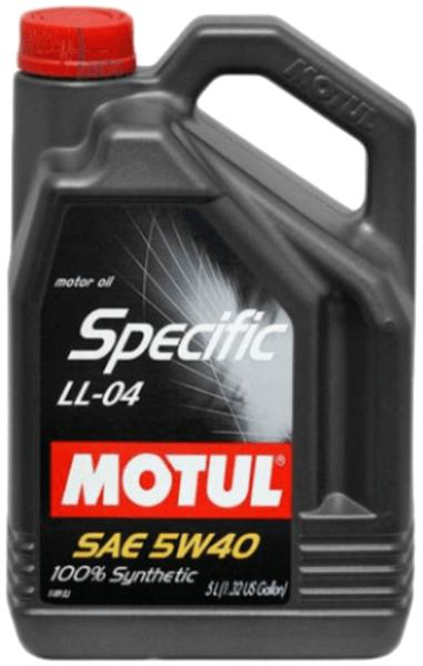 MOTUL SPECIFIC LL-04 5W-40 5L