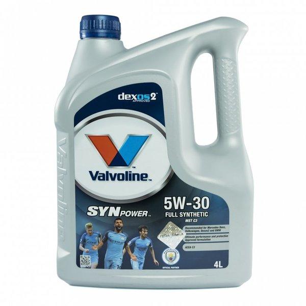 VALVOLINE SYNPOWER MST C3 5W30 4L SW