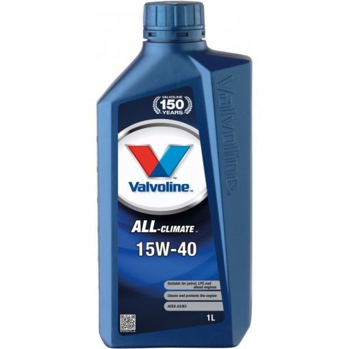 VALVOLINE VAL ALL CLIMATE 15W40 1L SW
