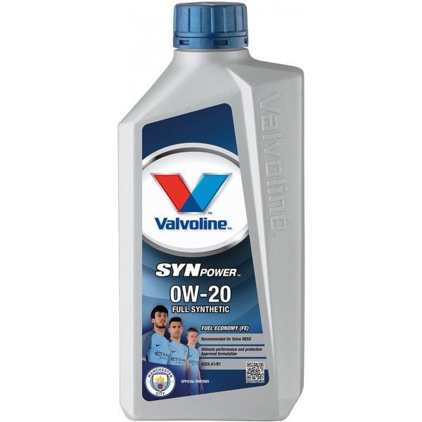 VALVOLINE SYNPOWER FE 0W20 1L SW