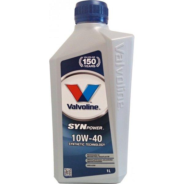 VALVOLINE SYNPOWER 10W40 1L SW